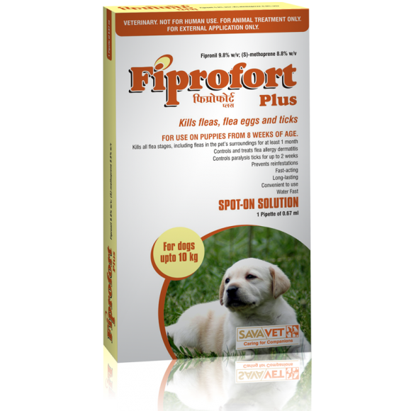 FIPROFORT PLUS SPOT-ON FOR DOGS (0-10KG)