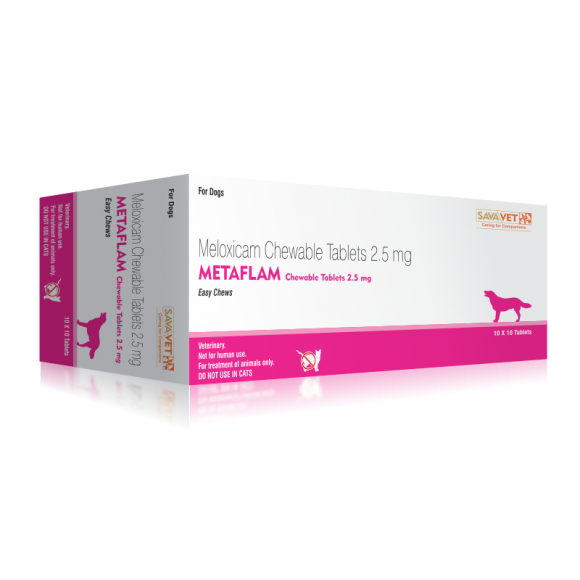 METAFLAM CHEWABLE TABLETS - 2.5MG
