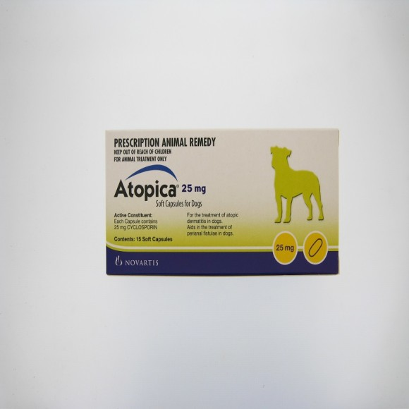 ATOPICA 25MG SOFT CAP 15