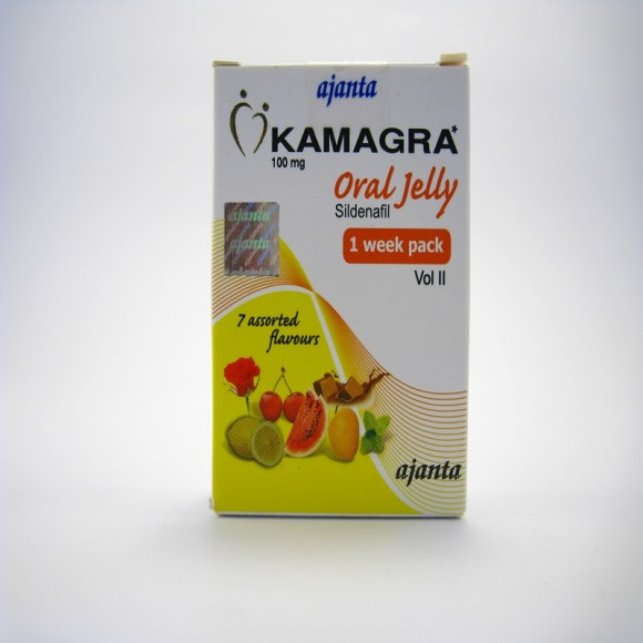 Kamagra Oral Jelly 100mg 7 Sachets of 5 gm